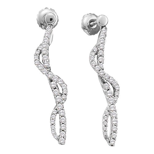 Diamond Stick Earrings - 9