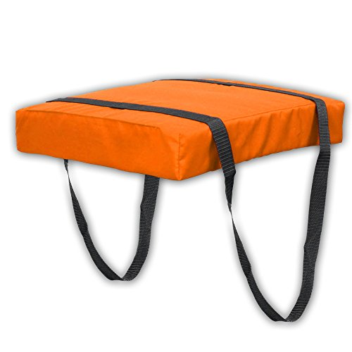 Bradley Type IV Boat Cushion USCG Approved Throwable Flotation Device - Neon Orange ()