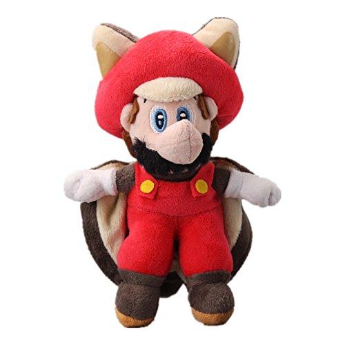 Flying Red Squirrel (UiUoU Super Mario Bros. Flying Squirrel Mario Plush 9