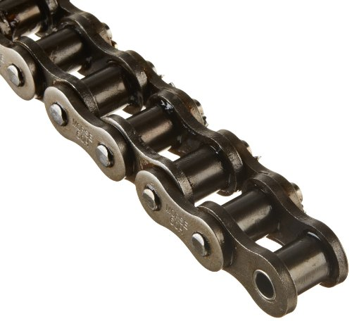 - Morse 60HC 10FT Heavy Roller Chain, ANSI 60H, Cottered, 1 Strand, Steel, 3/4