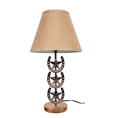 DEI Horseshoe Lamp Décor, Medium, Brown by DEI