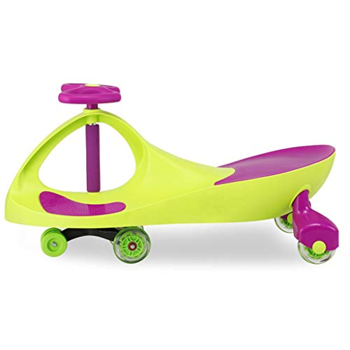 Pink day-us Children Twist Car Large 1-3 Years Old Baby Swing Car Yo Car Baby Walker Anti-Rollover 81*38*41.5CM Kids' Bikes & Accessories Color : A#