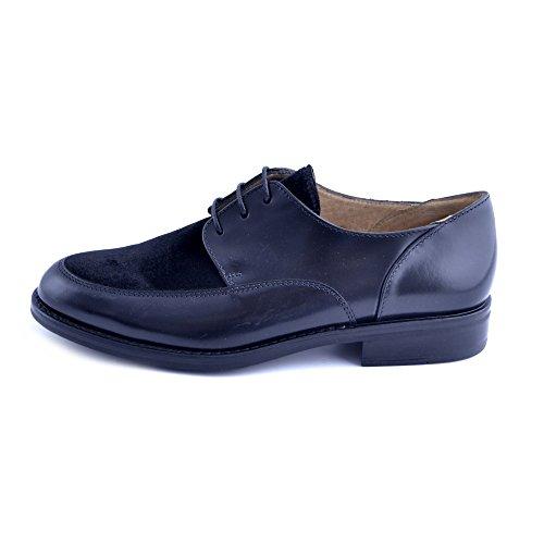 Negro Para De Zapatos Mujer Cordones Soldini wHYOq1