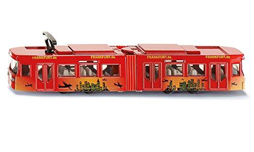 Siku 1615 Straßenbahn, farblich sortiert