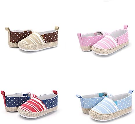 Meckior Infant Baby Girls Boys Canvas Shoes Soft Sole