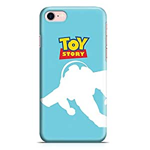 Loud Universe Buzz Light Year Toy Story iPhone 7 Case Blue Flying Buzz iPhone 7 Cover with 3d Wrap around Edges