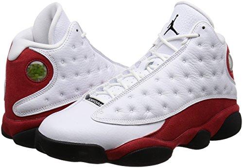 """Jordan Retro 13 """"OG"""" White/Black-Team Red (9 D(M) US)"""
