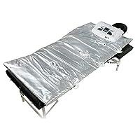 Nova Microdermabrasion Improved 3 Zone Fir Far Infrared Sauna Blanket Weight Loss Spa Detox More Safety,36V