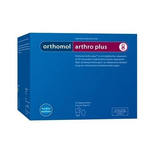 Orthomol Arthro Plus Genuine Dietary Management of Osteoarthritic Joint Changes Skin Capital by SKIN CAPITAL SHOPS