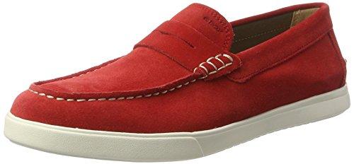 Hombre para C Rojo U Geox Walee Mocasines Redc7000 BOFxq6