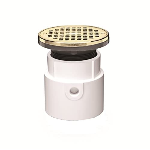 Oatey 72137 PVC General Purpose Drain with 6-Inch BR Grate and Round Ring, 3-Inch or 4-Inch hot sale