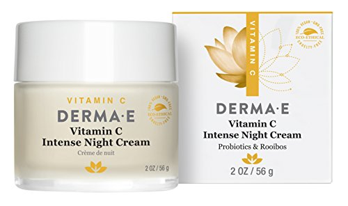 Derma E Vitamin C Intense Night Cream, 2 Ounce