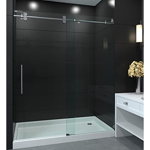 Nezza Nsd 4875 124 Bn Galaxy Clear Frameless Sliding Shower Doors