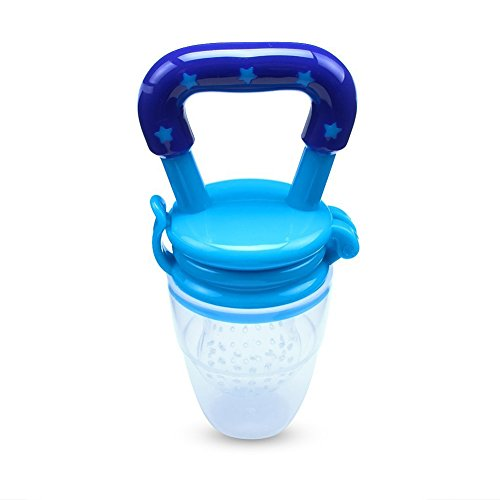 Silicone Baby Feeder Feeding L (Blue) - 9