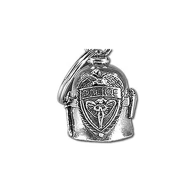 Hot Leathers BEA1019 Silver Police Guardian Bell