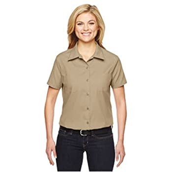 Fs5350 Women's Short Sleeve Industrial Work Shirt 0