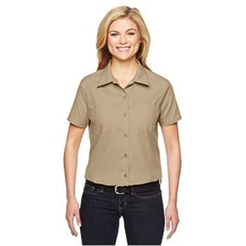 Fs5350 Women's Short Sleeve Industrial Work Shirt 0