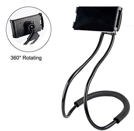 Rui Peng 電話ホルダー - 柔軟な携帯電話ホルダーぶら下げネック怠惰なネックレスブラケットスマートフォンホルダースタンドfor iPhone Xiaomi Huawei