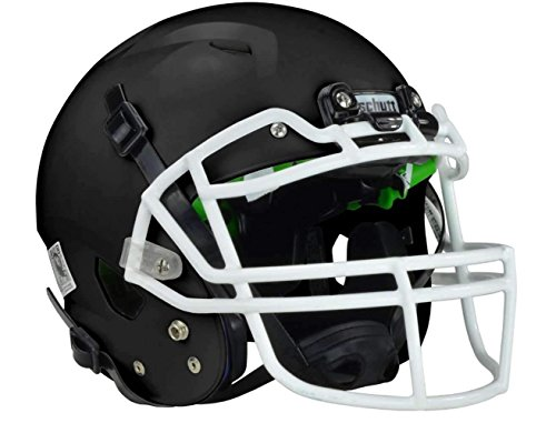 Schutt Revenge A3 Youth Football Helmet (Matte Black, X-Small)