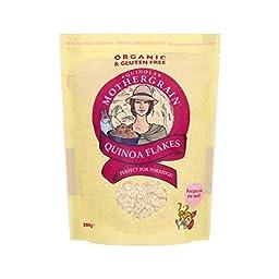Quinola Mothergrain Organic Quinoa Flakes 200g - Pack of 4