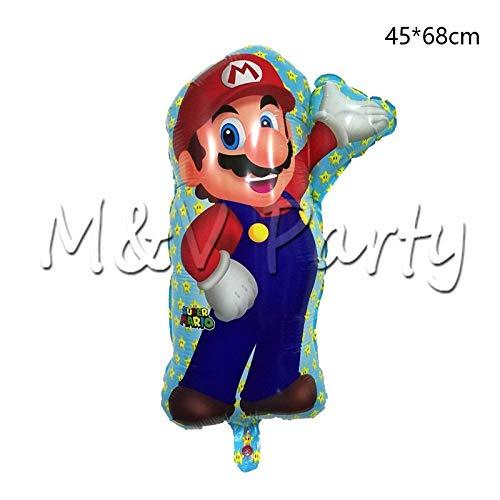 YUWANW Plato de fruta creativo, diseño de Mario, desechable ...
