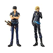 Piece DXF ~ THE GRANDLINE MEN ~ ONE PIECE FILM GOLD vol.3 Zoro + vol.4 Sanji set of 2