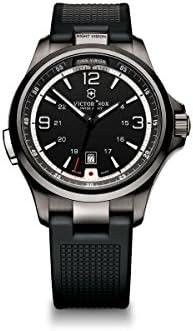 Victorinox Night Vision Quartz Movement Black Dial Men's Watch