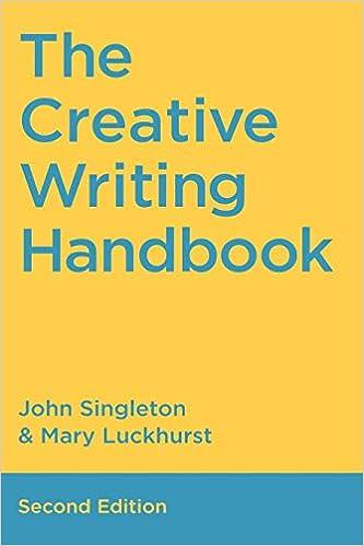 the creative writing workbook john singleton