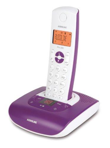 Audioline PRO 280 Té lé phones Sans fil Ré pondeur Ecran 901103 B008ZIRXVI