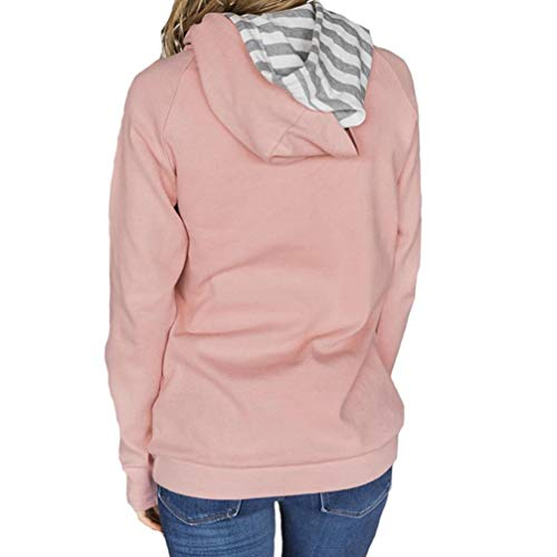 DAYLIN Top Manches Rose Chemisier Col Solid Femme V Dcontract Courtes SYSrwvqd