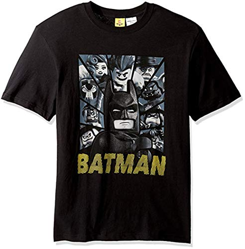 LEGO Men's Movie Short Sleeve T-Shirt, Bad Buy Black, Small]()