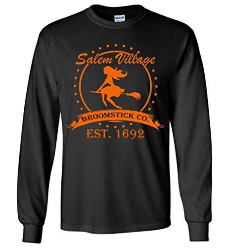 Salem Village Broomstick co.Est 1692 Long Sleeve Halloween Costume ()
