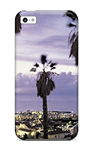 Tough Iphone FqcZkdy6373Cnivg Case Cover/ Case For Iphone 5c(tenerife Holidays )