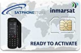 SatPhoneStore Inmarsat IsatPhone Prepaid 250 Unit (192 Minutes) SIM Card Ready for Easy Online Activation