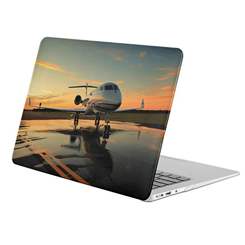 For Apple Macbook Pro 15.4 Inch + CD-ROM Drive (Model A1286)( Airplanes Private Jet) , Matte Rubber Coated Soft Touch Plastic Hard Case - Jet Drive Models