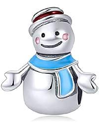 Berloque Boneco de Neve