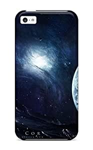 Best First-class Case Cover For Iphone 5c Dual Protection Cover Space Art 3414050K10103789