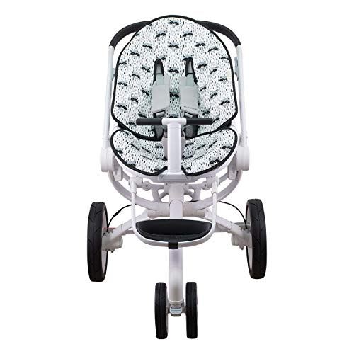Janabebé Mat for Quinny Moodd, Cam Cubo, Stokke y Cybex Priam Deluxe (Raccoon)