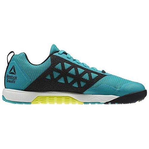 3aeb3c2f35a Reebok CrossFit Nano 6.0 Shoes - Neon Pacific   White   Black - Womens 5.5  - Buy Online in Oman.