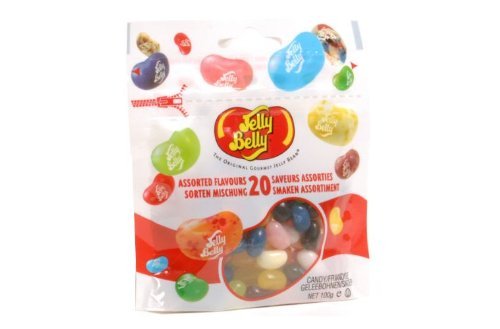 Jelly Belly 20 Assorted Flavours Beans 100G Pouch