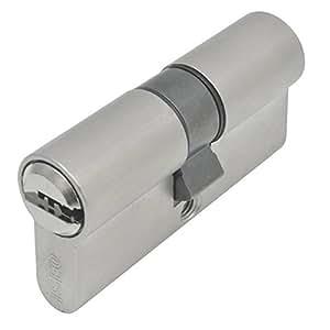 Iseo 880130609.5TS Bombillo de seguridad, leva corta (níquel, 30 x 60 mm) 30X60