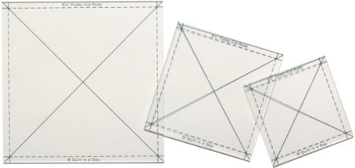 Quilt In A Day Fussy Cut Ruler, 3 Pieces