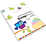 Anker Kids Create Arts and Crafts Coloured Paper Scarpbook, Plastic, Assorted Colour, Sheet of 25