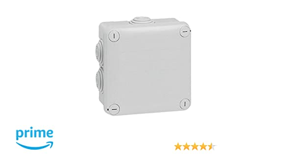 Legrand 092022 De plástico caja de conexión eléctrica - Cuadro eléctrico (Color blanco, 105 mm, 105 mm, 55 mm): Amazon.es: Industria, empresas y ciencia