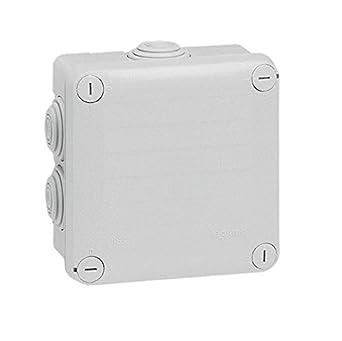 Legrand 092022 De plástico caja de conexión eléctrica - Cuadro eléctrico (Color blanco, 105