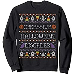 Funny Obsessive Halloween Disorder Ugly Sweater