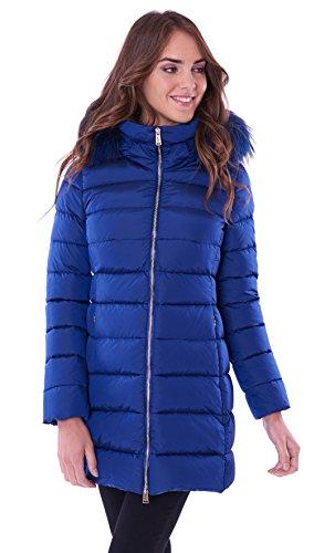 Mujer para bluette Down ADD azul Abrigo BOYxT