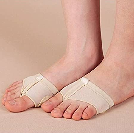 Prettyia 2//pack Foot Thong Pads Toe Protector Undies Ballet Dancing Paws