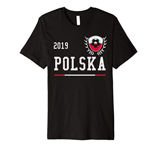 Poland Football Jersey 2019 Polish Soccer T-shirt ()