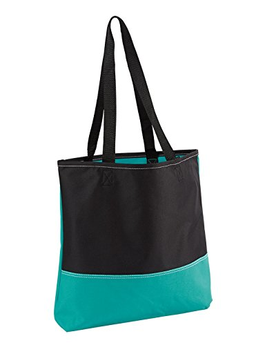 Gemline Prelude Shoulder Straps Convention Tote, TURQUOISE, One Size from Gemline